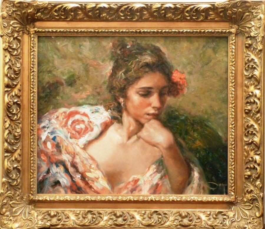 Reflection Jose Royo Original Painting