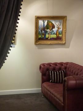 geoffrey key original painting lancashire