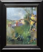 Lenkiewicz_original_painting_anna_in_a_tree-734x900