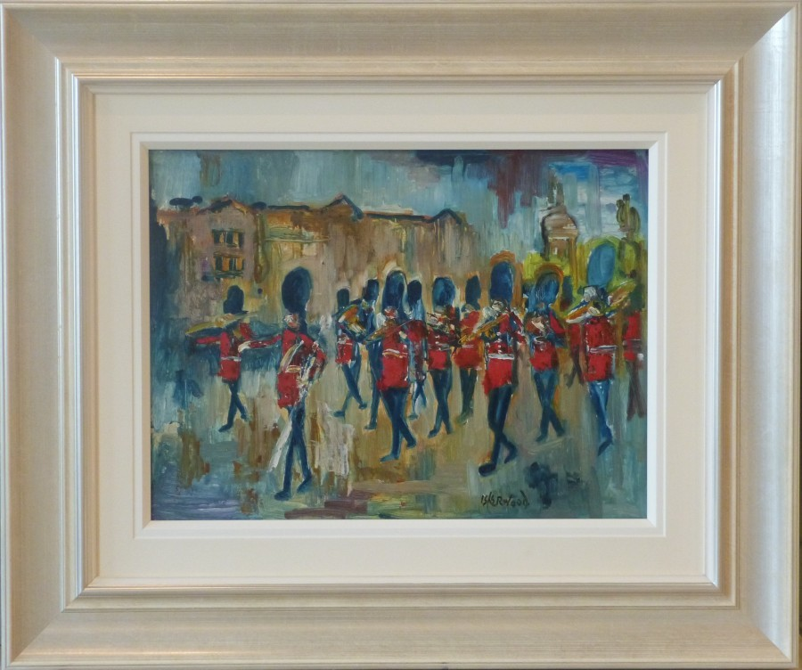 london horseguards painting james lawrence isherwood