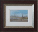 braaq original pastel art painting