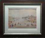 L s Lowry on the sands print not whitewall gallery