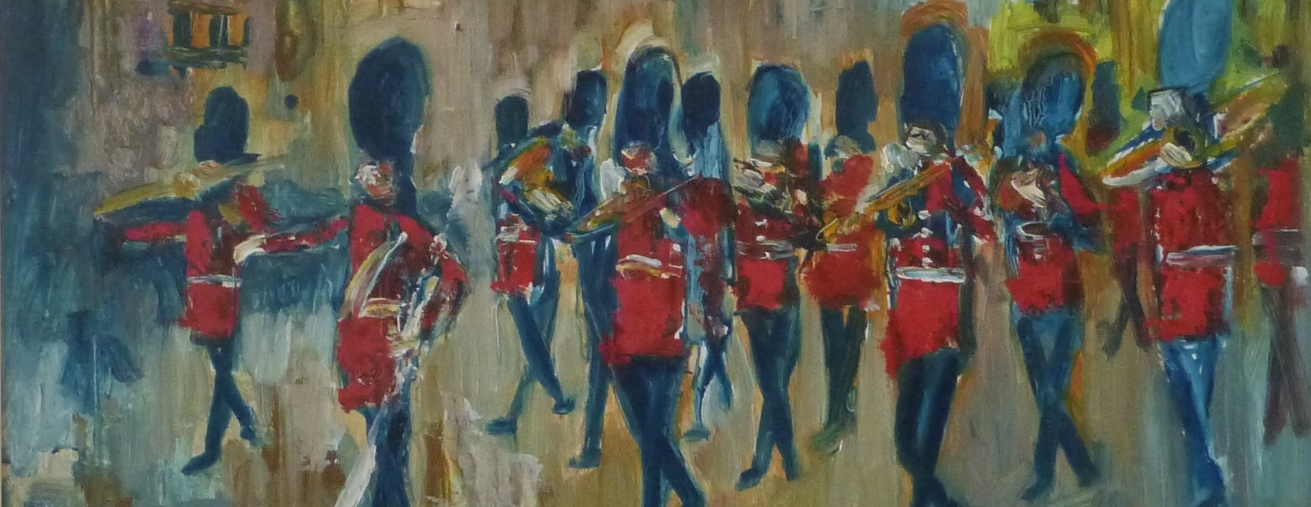 James Lawrence Isherwood London painting guards
