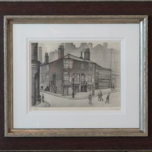 great ancoats street by artist l s lowry manchester northern art