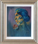 isherwood spanish girl original painting