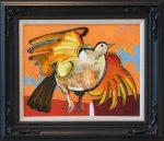 geoffrey key moorland bird original