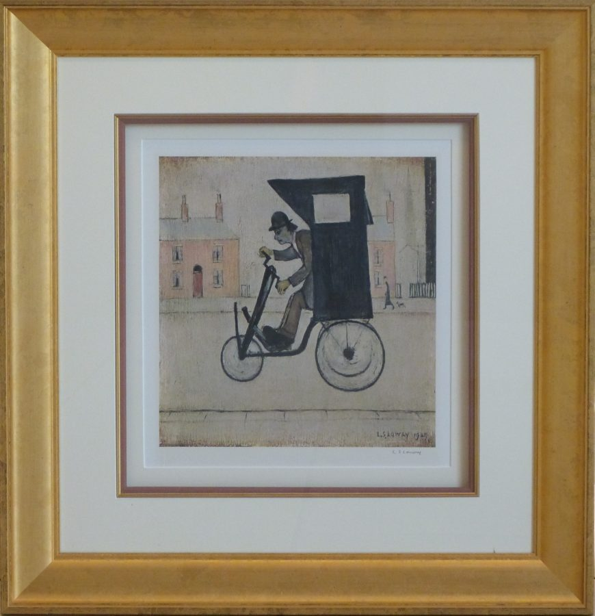 l s lowry contraption signed