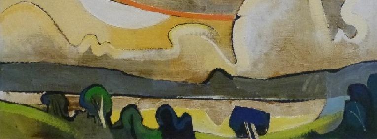 original oil painting by salford artist geoffrey key