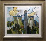 Steam Clouds Geoffrey Key Original Painting