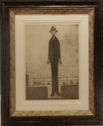 Man Promenade LS Lowry Limited Edition Print