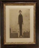 Man Promenade LS Lowry Limited Edition Print