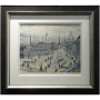 Huddersfield LS Lowry Signed Limited Edition Print