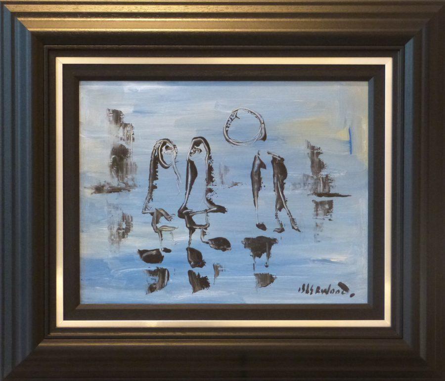James Lawrence isherwood Wigan painting figures