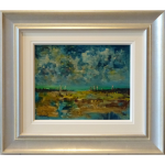Hastings Beach James Lawrence Isherwood Original Painting seascape