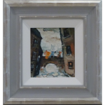 Chorlton on Medlock William Ralph Turner Original Painting cityscape