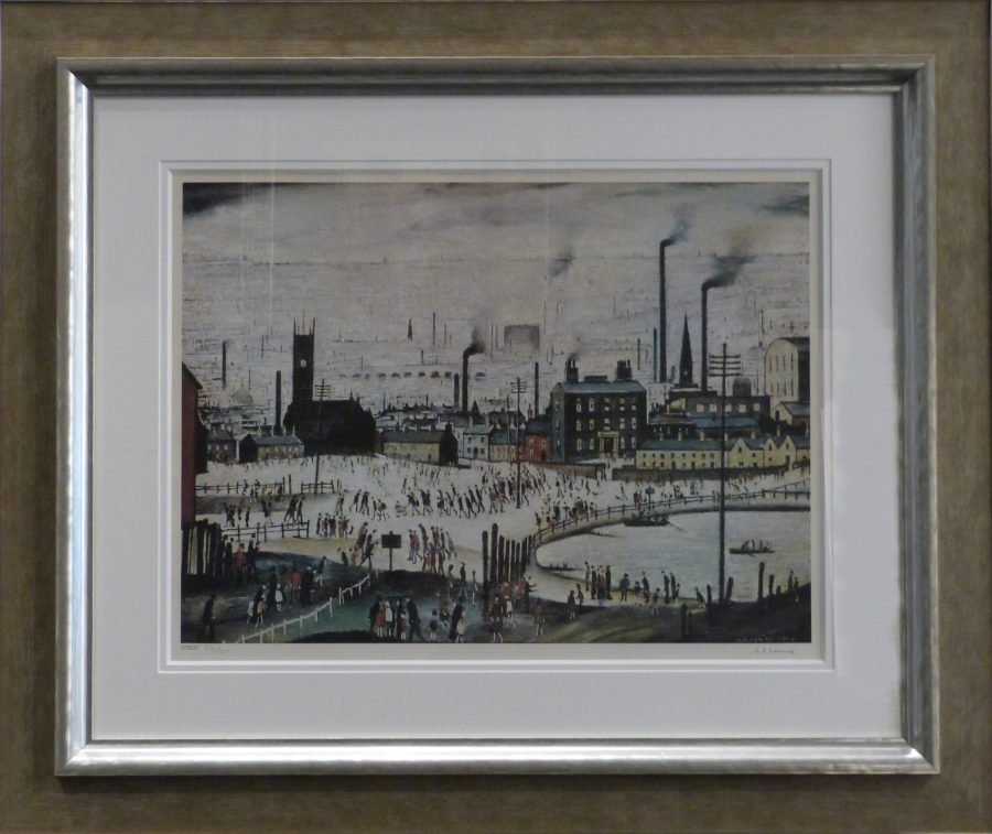 Industrial Town LS Lowry Signed Limited Edition Print