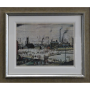 Industrial Town LS Lowry Signed Limited Edition Print cityscape