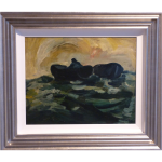 Ocean James Lawrence Isherwood original painting northern art