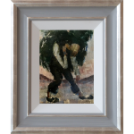 Figure-Study-Original-Painting-Harold-Riley-northern-art