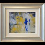 Sun Wigan Shawl Woman James Lawrence Isherwood Original Painting figurative