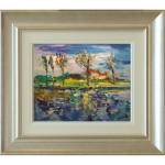 Reflections James Lawrence Isherwood Original Painting landscape
