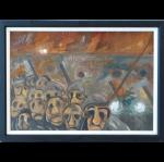 Fiery Rust David Watson Original Painting northern art