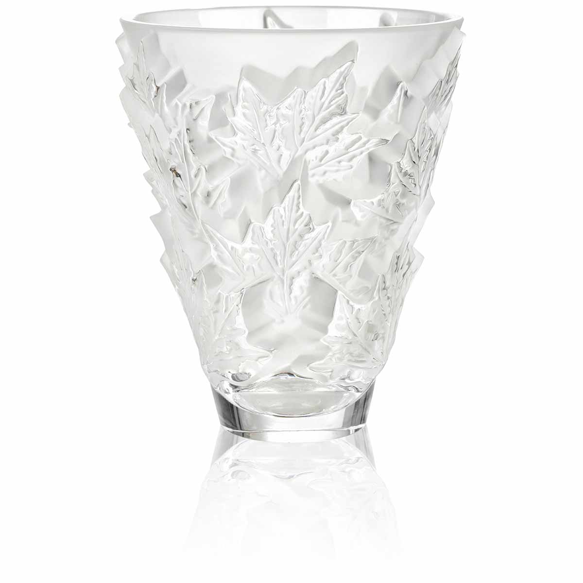 champs elysees vase small by lalique glass international art collector - Lalique Vase