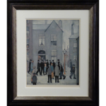 Arrest LS Lowry Limited Edition Print northern art