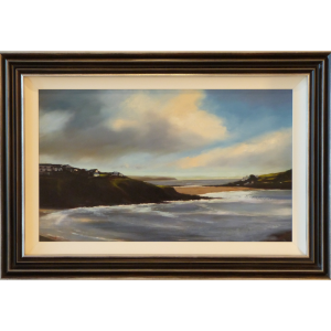 Break Clouds Michael Ashcroft Original Painting oil
