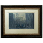 Outside Mill LS Lowry Limited Edition Print art
