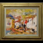 Donkeys Mijas James Lawrence Isherwood Original Painting spain