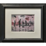 Figures Smog James Lawrence Isherwood Original Painting art