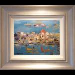 Malta James Lawrence Isherwood Original Painting contemproary