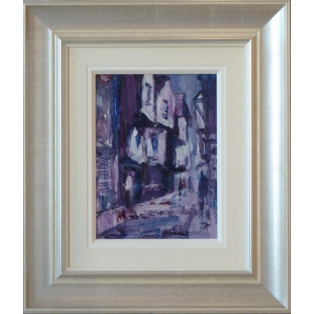 Rain Shambles York James Lawrence Isherwood Original Painting art