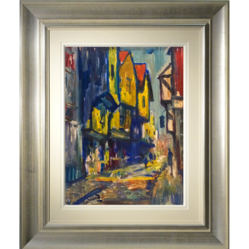 Shambles York James Lawrence Isherwood Original Painting artist