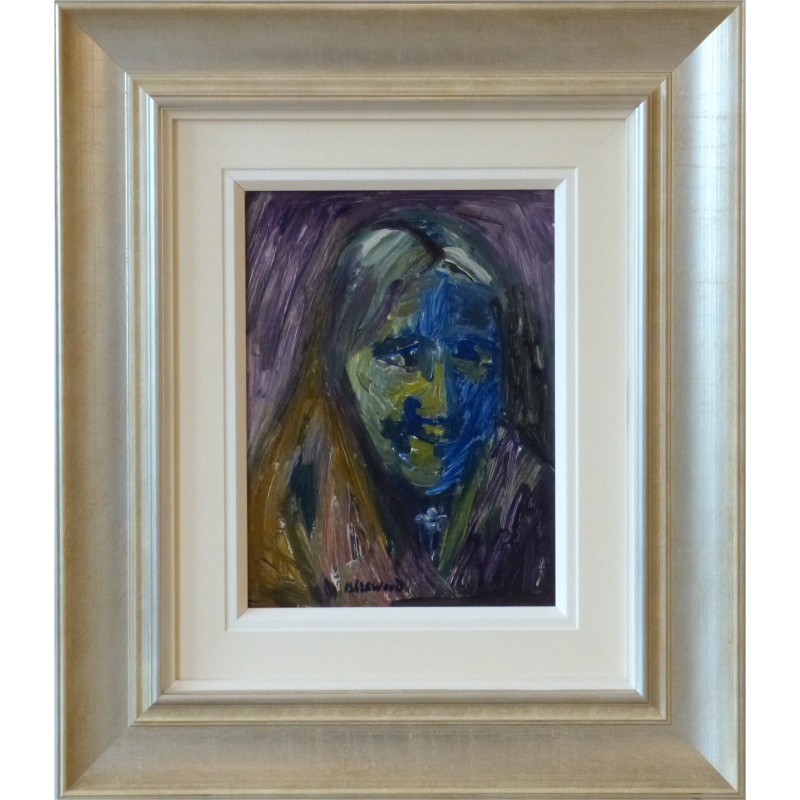 Shawled Woman James Lawrence Isherwood Original Painting contemporary art