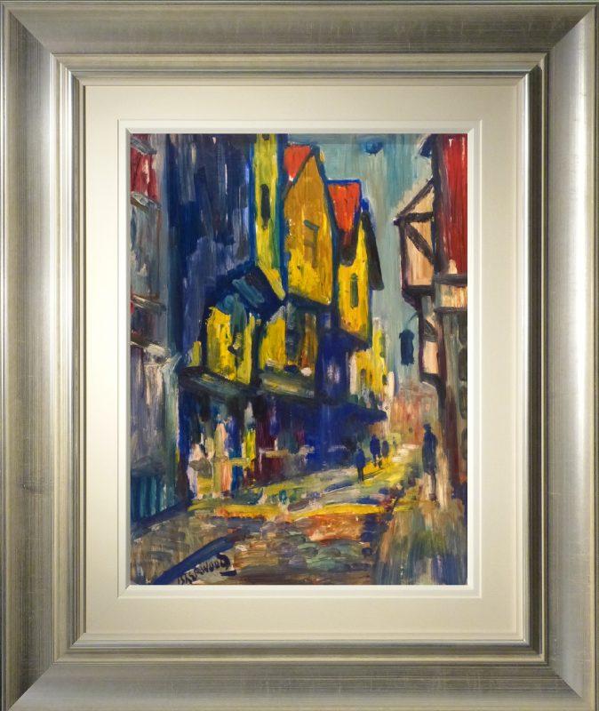 Shambles York  James Lawrence Isherwood Original Painting