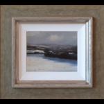 Denham Lane Snow Michael Ashcroft Original Painting landscape
