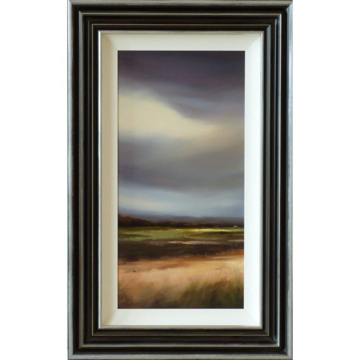 Lancashire Skies one Michael Ashcroft Original Painting landscape art