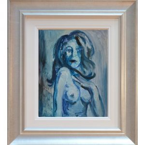 Nude James Lawrence Isherwood Original Painting figurative art
