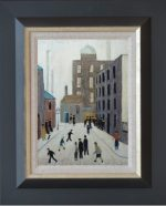 Original Oil Painting by George Aird Homage to Lowry