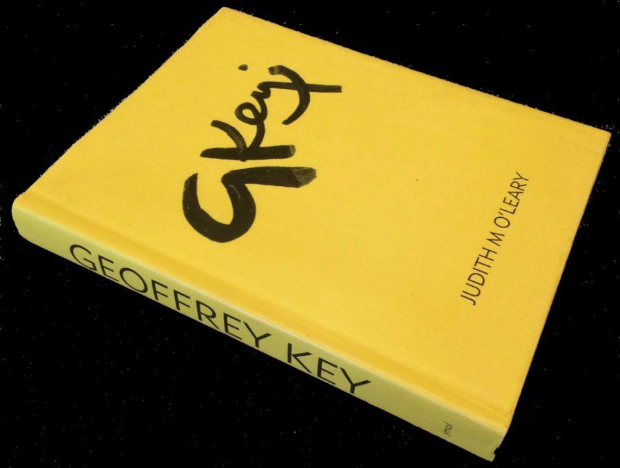 Signature Book Geoffrey Key Hardback Book side